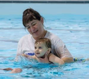 swimming help kids with stress