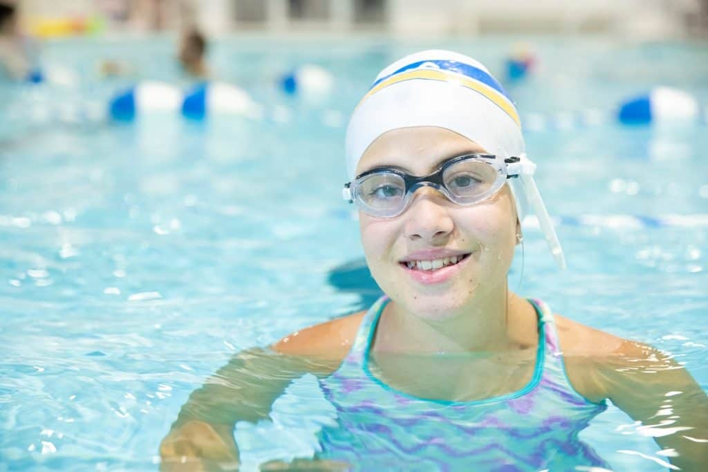 How to put on a swim cap properly and easily