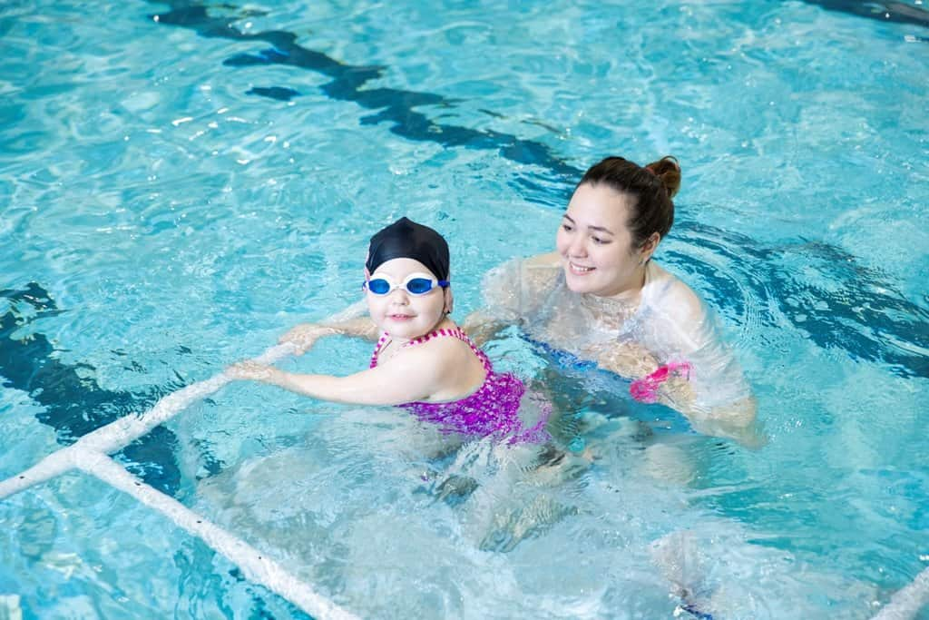 Keeping your child motivated in swimming lessons (or any lesson)
