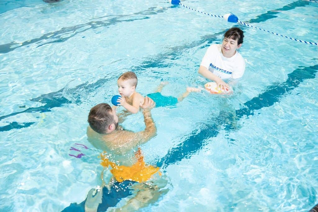What to do when your child is scared of swimming lessons