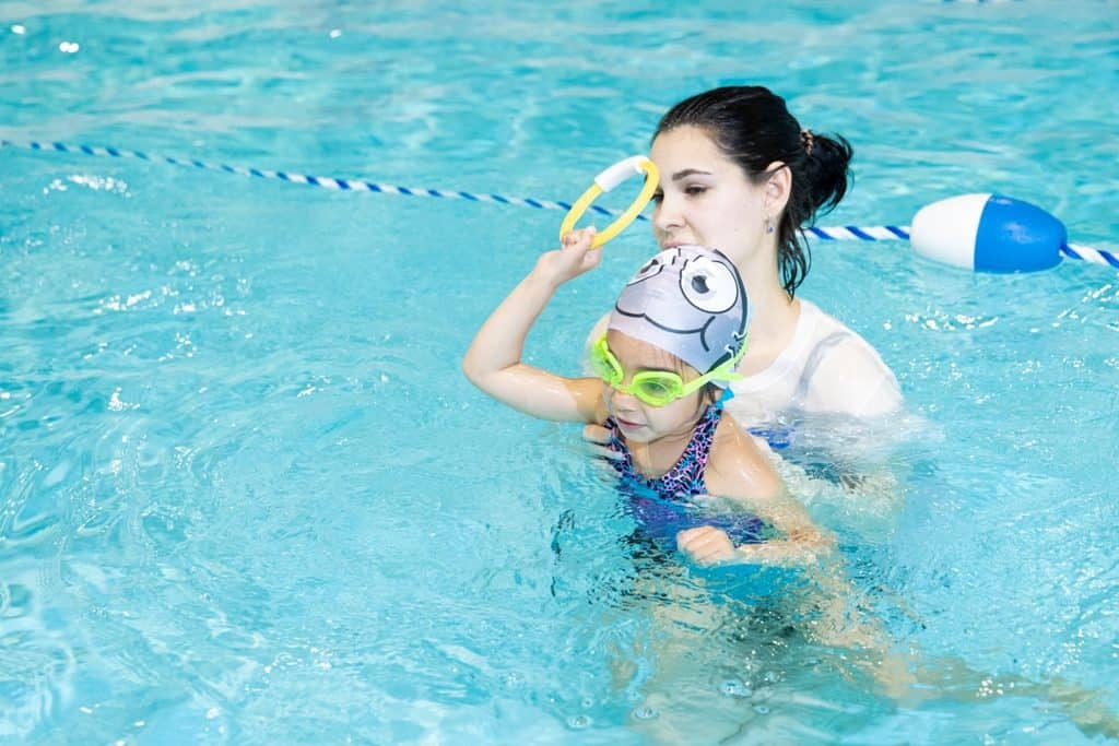 Infant swimming guidelines and safety tips